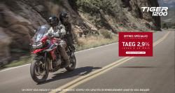 Offre TAEG 2.9% triumph Tiger 1200